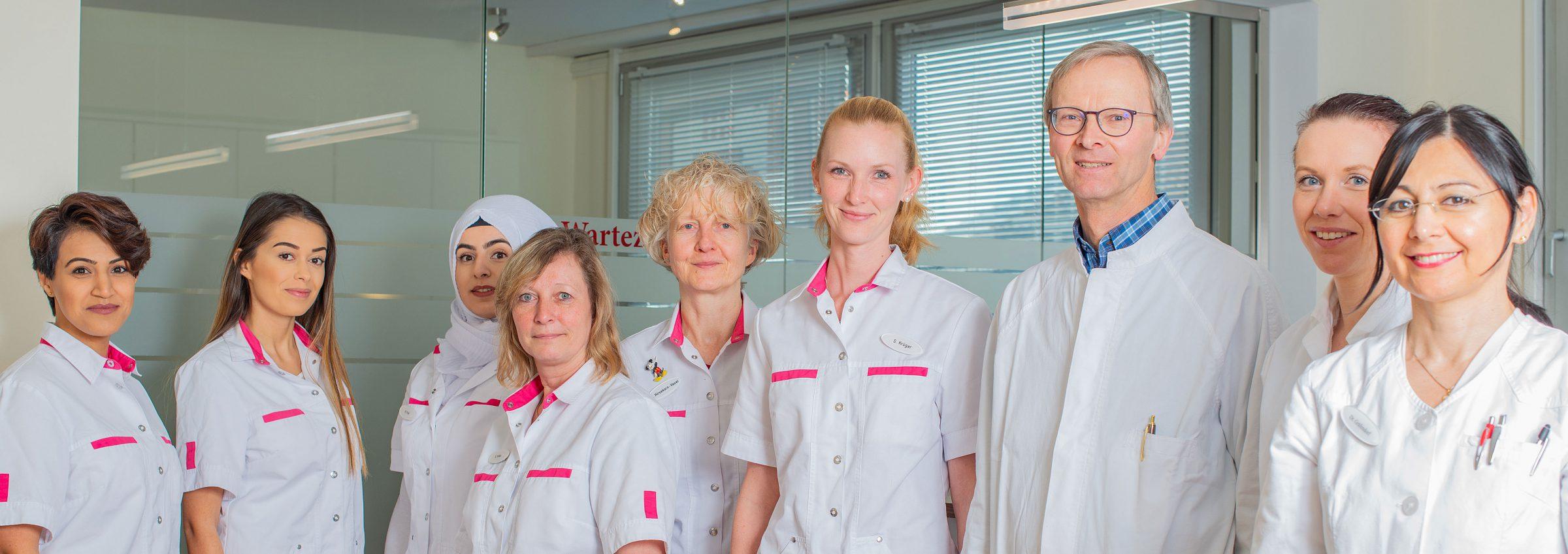 Arztzentrum Pinneberg Team - Dr. Gräfendorf - Dr. Loeck und Kollegen